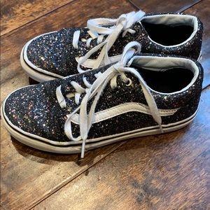 Vans Kids Sparkly Shoes US Sz. 3.5